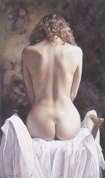 Steve Hanks - Centered -  LIMITED EDITION PRINT Published by the Greenwich Workshop