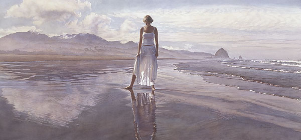 Steve Hanks - Finding Yourself in the World -  LIMITED EDITION PRINT Published by the Greenwich Workshop