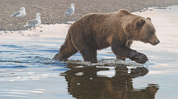 Daniel Smith - Kodiak Collaboration -  LIMITED EDITION CANVAS Published by the Greenwich Workshop
