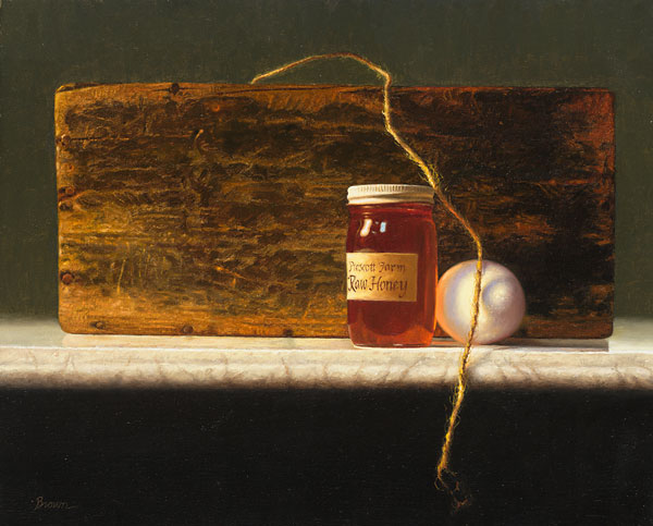 Honey, Egg, Wood and String<br> LIMITED EDITION CANVAS