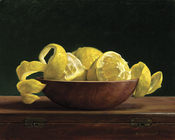 Donna Surprenant - Lemon Spirals -  LIMITED EDITION CANVAS Published by the Greenwich Workshop