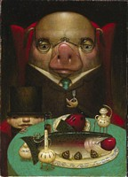 Pig Out<br> LIMITED EDITION PRINT