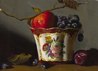 Porcelain and Fruit&lt;br&gt; LIMITED EDITION CANVAS