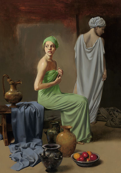 William Whitaker - At the Sanctuary -  LIMITED EDITION CANVAS Published by the Greenwich Workshop