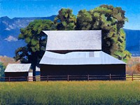 Barn at Cove Oregon<br> LIMITED EDITION CANVAS