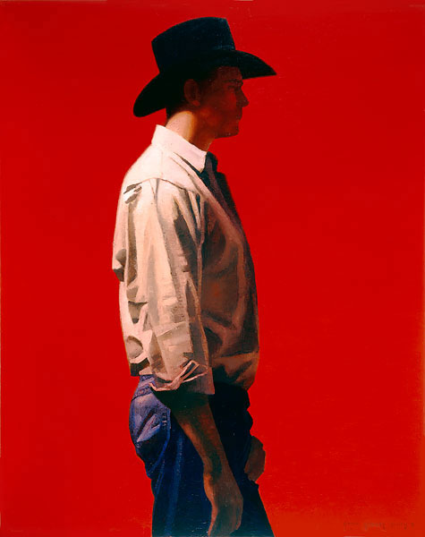 Gary Ernest Smith - Man in Red -  LIMITED EDITION CANVAS Published by the Greenwich Workshop