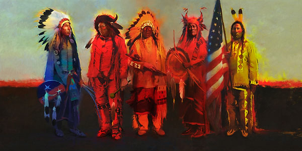 R. Tom Gilleon - Men of Honor -  LIMITED EDITION CANVAS Published by the Greenwich Workshop