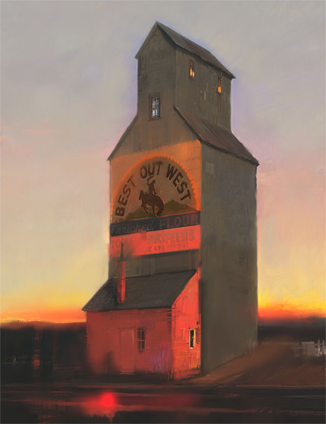 R. Tom Gilleon - Best Out West -  LIMITED EDITION CANVAS Published by the Greenwich Workshop