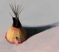 Teebow Tipi&lt;br&gt; LIMITED EDITION CANVAS