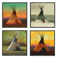 Saisons SUITE OF 4&lt;br&gt; LIMITED EDITION CANVAS