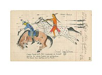 Crazy Horse with Hail Markings<br> LIMITED EDITION PRINT