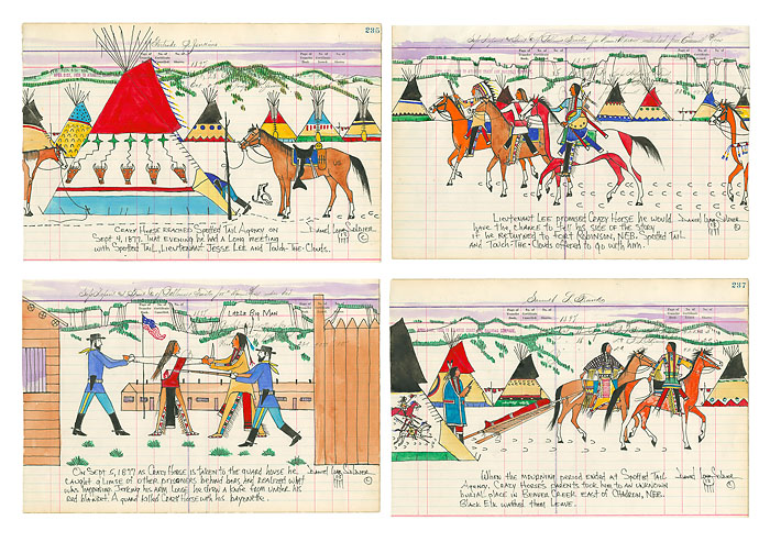 Daniel Long Soldier - The Betrayal of Crazy Horse -  LIMITED EDITION PRINT Published by the Greenwich Workshop