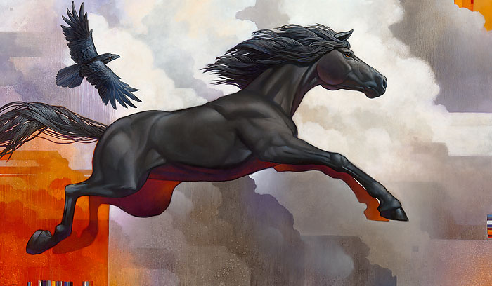 Craig Kosak - Pegasus - Leap of Faith -  LIMITED EDITION CANVAS Published by the Greenwich Workshop