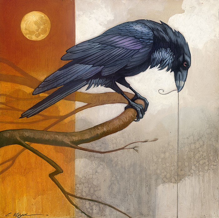 Craig Kosak - Merlin and the Golden Moon -  SMALLWORK CANVAS EDITION Published by the Greenwich Workshop