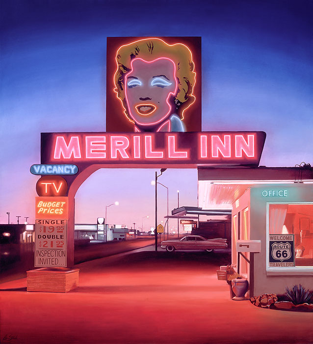 Ben Steele - Merill Inn -  LIMITED EDITION PRINT Published by the Greenwich Workshop