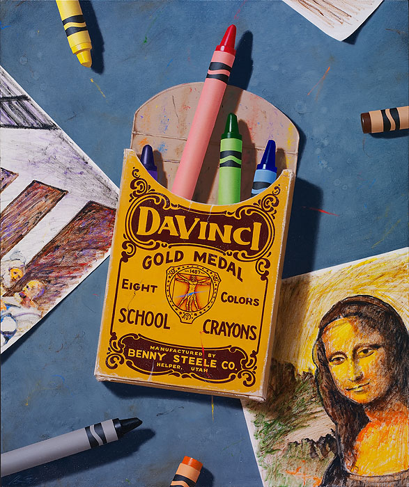 Ben Steele - Dedicated to da Vinci -  LIMITED EDITION CANVAS Published by the Greenwich Workshop