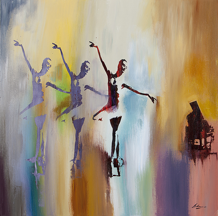 Pietro Adamo - Sola, La Prima Ballerina -  LIMITED EDITION CANVAS Published by the Greenwich Workshop