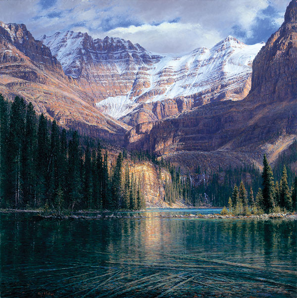 Curt Walters - September Afternoon at Lake O´Hara -  MASTERWORK EDITION CANVAS Published by the Greenwich Workshop