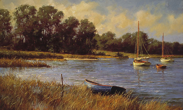 Don Demers - Nantucket Morning -  LIMITED EDITION CANVAS Published by the Greenwich Workshop