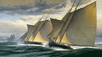 End of Day One - The Great Transatlantic Race, 1866