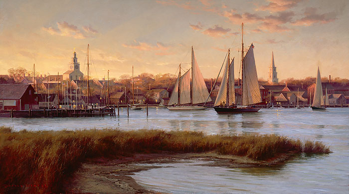 Don Demers - Nantucket Twilight -  LIMITED EDITION CANVAS Published by the Greenwich Workshop