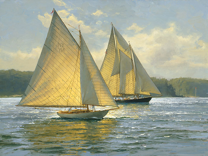 Don Demers - Bay Light -  LIMITED EDITION CANVAS Published by the Greenwich Workshop