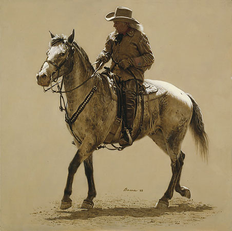 James Bama - BUFFALO BILL -  LIMITED EDITION PRINT Published by the Greenwich Workshop