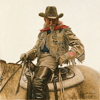Buffalo Bill - 4th of July<br> LIMITED EDITION CANVAS