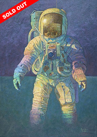 Alan Bean - THAT´S HOW IT FELT TO WALK ON THE MOON -  L.E. PRINT Published by the Greenwich Workshop