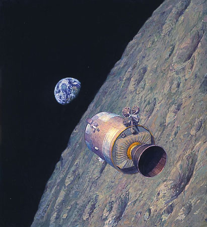 Alan Bean - HOMEWARD BOUND -  LIMITED EDITION PRINT Published by the Greenwich Workshop