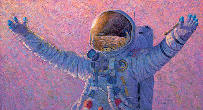 Alan Bean - HELLO UNIVERSE -  LIMITED EDITION PRINT Published by the Greenwich Workshop
