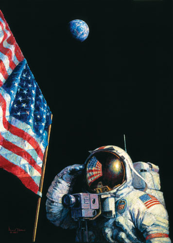Alan Bean - An American Success Story -  LIMITED EDITION CANVAS Published by the Greenwich Workshop