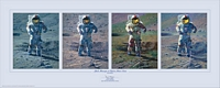 Apollo Moonscape, An Explorer Artist&amp;#180;s Vision&lt;br&gt; LIMITED EDITION PRINT