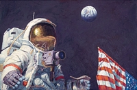 The Last Man on the Moon<br> LIMITED EDITION CANVAS