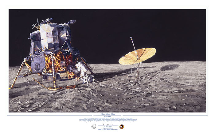 Alan Bean - Home Sweet Home -  LIMITED EDITION PRINT Published by the Greenwich Workshop
