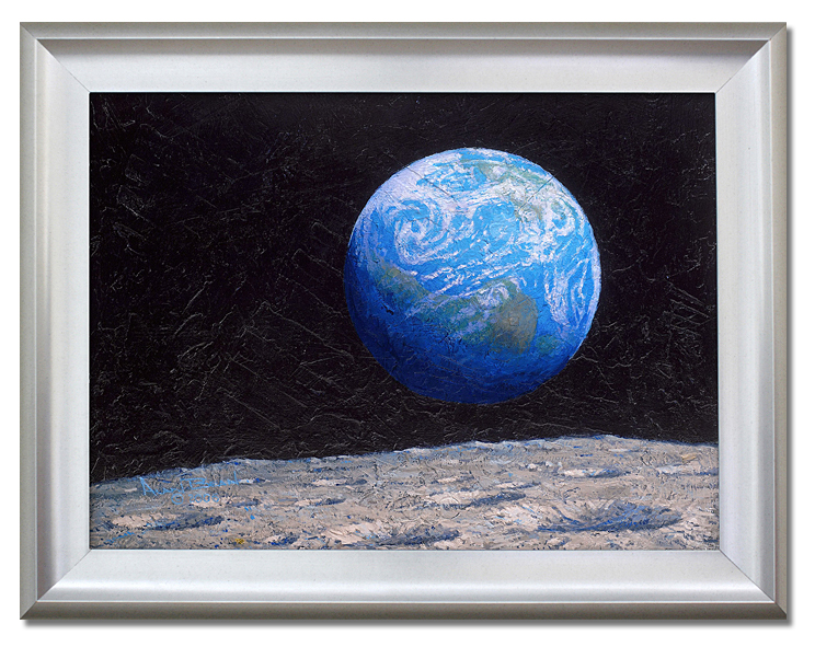 Alan Bean - The Source of Intelligent -  Limited Edition Canvas Framed Published by the Greenwich Workshop