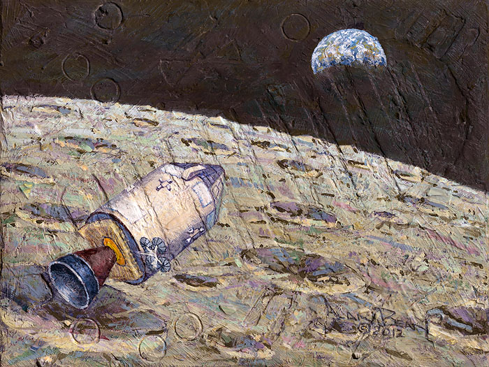 """Apollo 12 is Headed Home"" by Alan Bean"