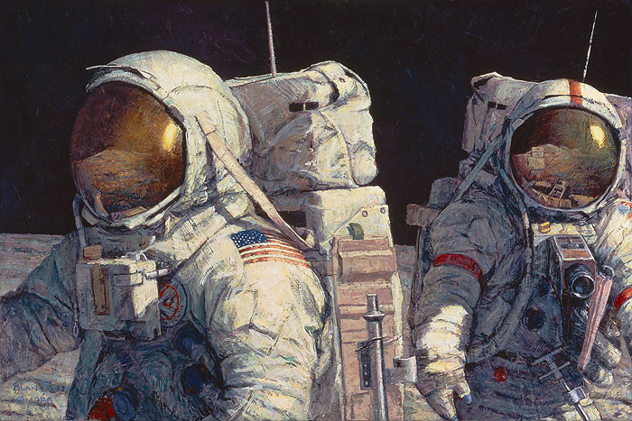 Alan Bean - Conquistadors -  LIMITED EDITION CANVAS Published by the Greenwich Workshop