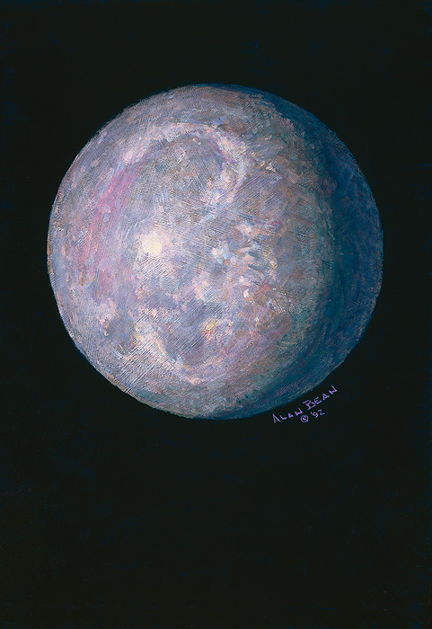 Alan Bean - Monet´s Moon -  LIMITED EDITION CANVAS Published by the Greenwich Workshop