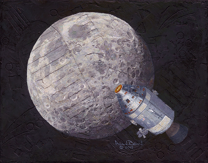 Alan Bean - Rollin´ Home -  LIMITED EDITION CANVAS Published by the Greenwich Workshop