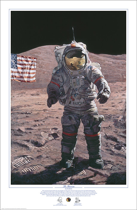 Alan Bean - The American -  Published by the Greenwich Workshop