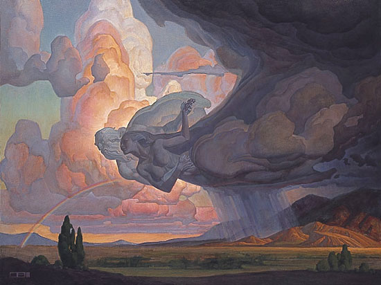 Thomas Blackshear - DANCE OF THE WIND AND STORM -  LIMITED EDITION PRINT Published by the Greenwich Workshop