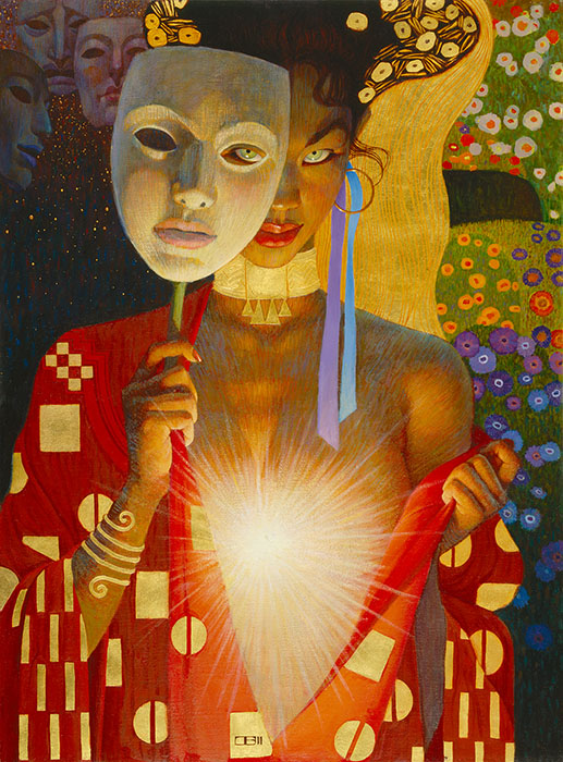 Thomas Blackshear - Intimacy -  ANNIVERSARY CANVAS EDITION Published by the Greenwich Workshop