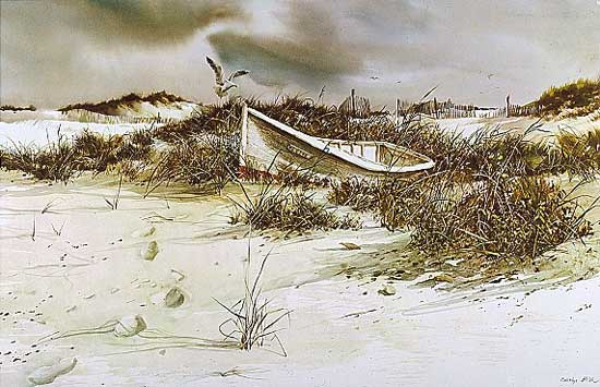 Carolyn Blish - BEACHED -  LIMITED EDITION PRINT Published by the Greenwich Workshop