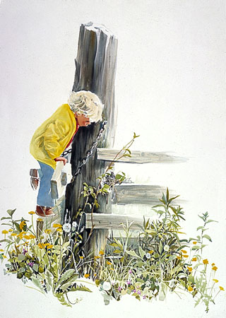 Carolyn Blish - A CLOSER LOOK -  LIMITED EDITION PRINT Published by the Greenwich Workshop