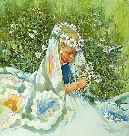 Carolyn Blish - DAISY QUEEN -  LIMITED EDITION PRINT Published by the Greenwich Workshop