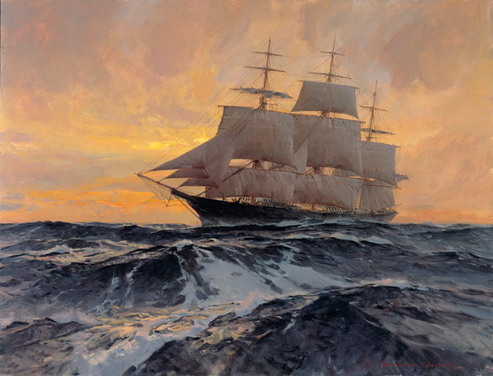 Christopher Blossom - Witch of the Wave -  LIMITED EDITION CANVAS Published by the Greenwich Workshop