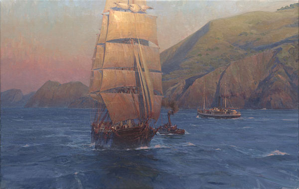 Christopher Blossom - Sunrise in the Golden Gate: Down Easter
