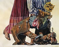 COWBOY ROMANCE&lt;br&gt; LIMITED EDITION PRINT