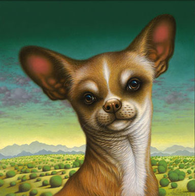 Braldt Bralds - Chihuahua de Chimayo -  LIMITED EDITION CANVAS Published by the Greenwich Workshop